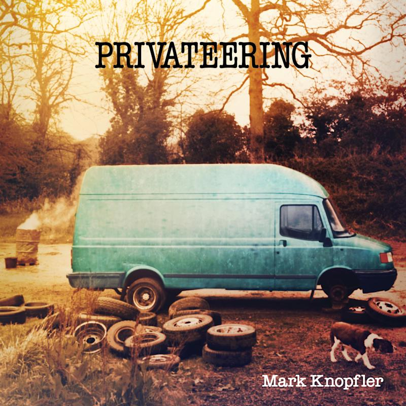 """This CD cover image released by Mercury/Universal shows """"Privateering,"""" the latest release by Mark Knopfler. (AP Photo/Mercury/Universal)"""