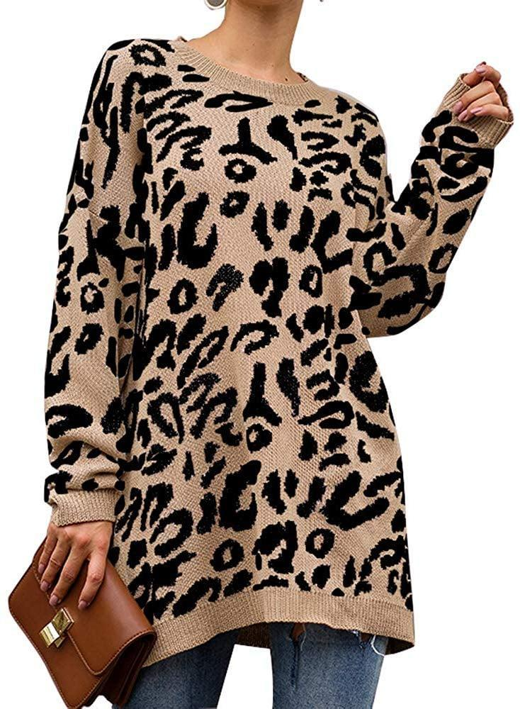 <p>This <span>PrettyGarden Leopard Sweater Dress</span> ($31) cal also be worn as a top.</p>
