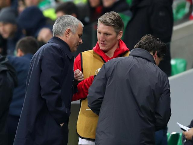Mourinho regrets how he treated Schweinsteiger upon his arrival (Getty)
