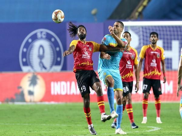 SC East Bengal and Hyderabad FC played out a 1-1 draw in the ISL on Friday. (Photo/ ISL)