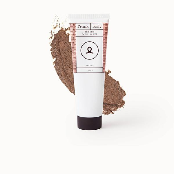 Frank Body's Original Face Scrub cleans pores, buffs away dry skin, and promotes clarity thanks to a blend of coffee, bamboo, white clay and walnut.