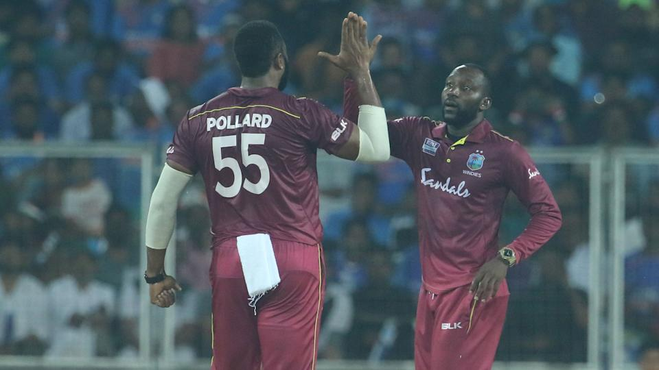 Pollard was all praise for leg-spinner Hayden Walsh and pacer Kesrick Williams.