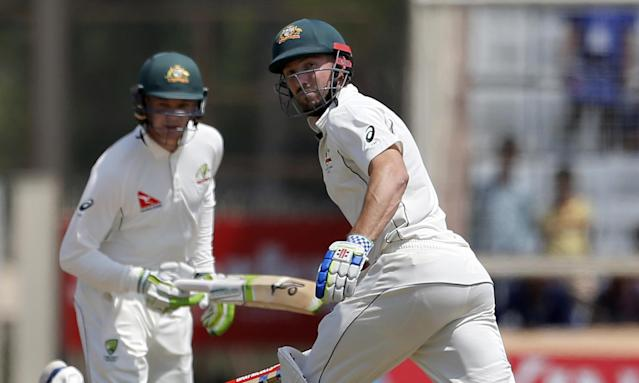 Handscomb and Marsh guide Australia to draw and keep India series alive