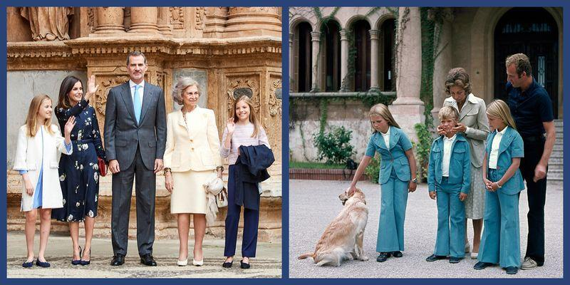 "<p>The British royal family might get a lot of attention, but there's another group of <a href=""https://www.townandcountrymag.com/society/tradition/a26193545/queen-victoria-descendants-on-the-throne/"" target=""_blank"">European royals</a> to know: the Spanish royal family. You might be familiar with the current Spanish royals thanks to their <a href=""https://www.harpersbazaar.com/uk/culture/culture-news/a30253681/queen-letizia-of-spain-christmas-card/"" target=""_blank"">stylish Christmas cards</a>, or Queen Letizia's <a href=""https://www.harpersbazaar.com/uk/fashion/what-to-wear/g28718695/queen-letizia-style-guide/"" target=""_blank"">impeccable fashion sense</a>, but what about their parents and siblings? We found the best photos dating all the way back to the 1940s, when King Carlos I—King Felipe's father—was just a child. From then to now, one thing is clear: they've always been famously photogenic.</p>"