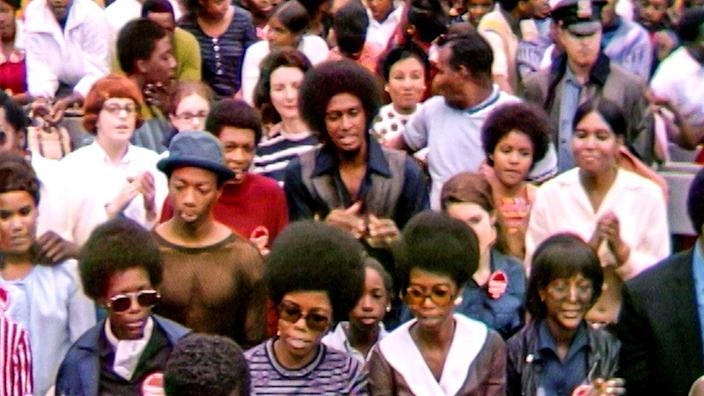 Music fans at the lesser-known 1969 US festival