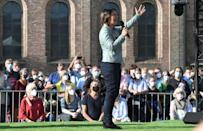 Baerbock has lived in Potsdam with her family for the last ten years (AFP/Tobias Schwarz)