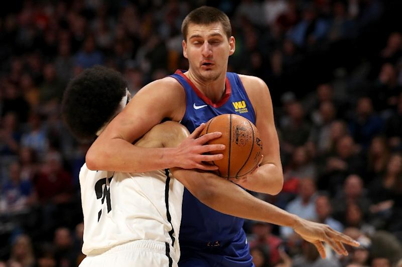 f2b6be5a890 Denver Nuggets Nikola Jokic busted out of a slump against Brooklyn but he  failed to get