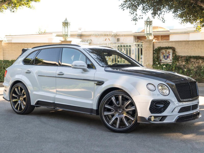 This Bentley Bentayga Is Almost Attractive Thanks To An