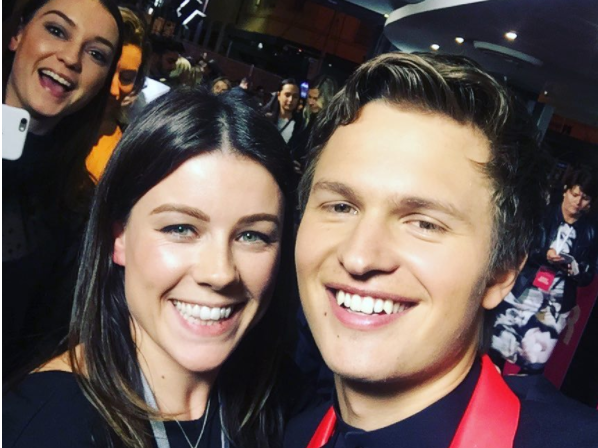 Ansel's selfie game is strong. Source: Be