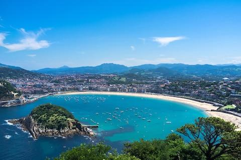 Head to San Sebastian for good food, sun, sand and surf - Credit: dean - Fotolia