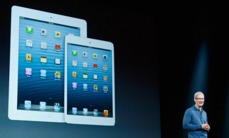 Apple introduced the iPad Mini on Oct. 23 after weeks of feverish speculation. The mini tablet is 7.9 inches. The company also unveiled a faster fourth generation full-size iPad.