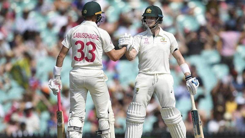 Unbeaten centurion Marnus Labuschagne and Steve Smith batted New Zealand into submission at the SCG
