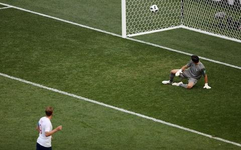 England's sixth came from an inadvertent deflection off Harry Kane - Credit: Clive Brunskill/Getty Images