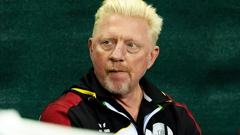 Boris Becker, pictured here during Davis Cup qualifiers in March.