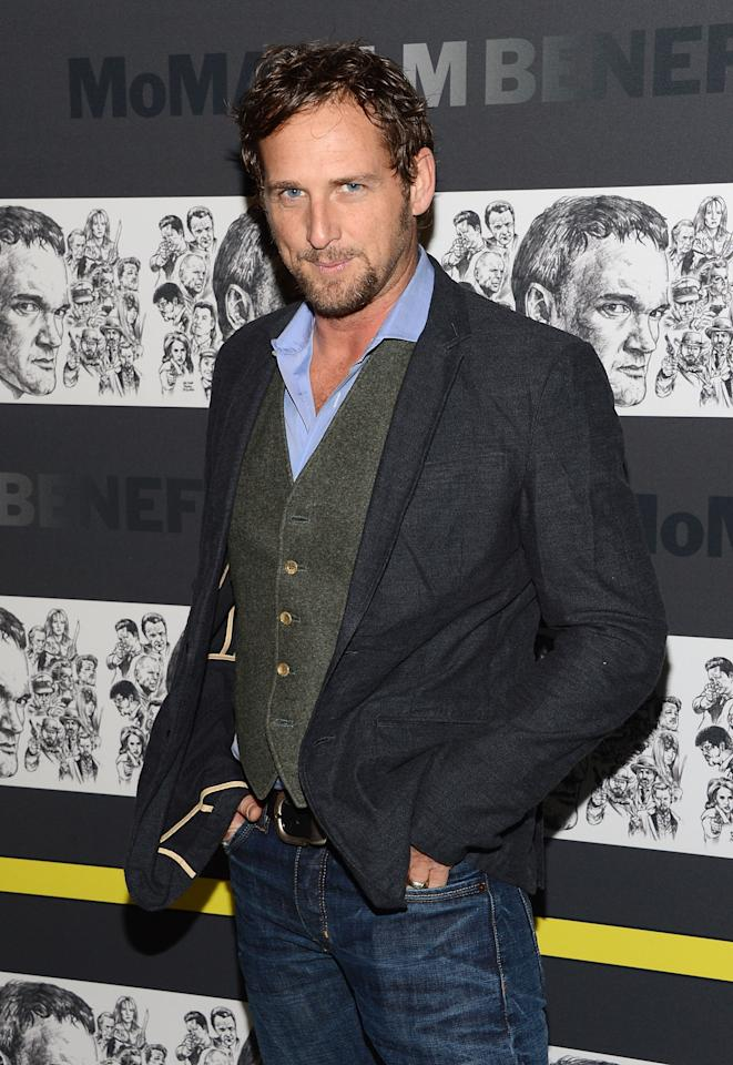 NEW YORK, NY - DECEMBER 03:  Actor Josh Lucas attends The Museum of Modern Art Film Benefit Honoring Quentin Tarantino at MOMA on December 3, 2012 in New York City.  (Photo by Andrew H. Walker/Getty Images)