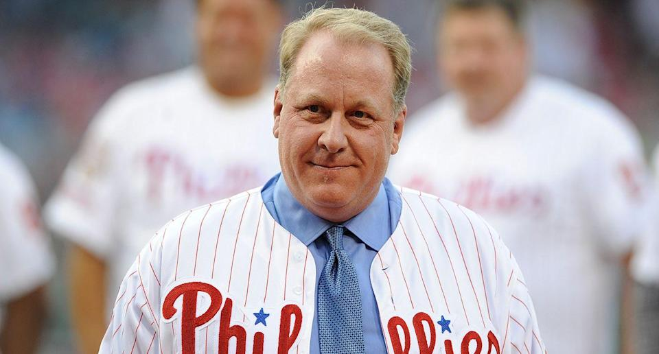Curt Schilling is still stirring up controversy on social media. (AP)