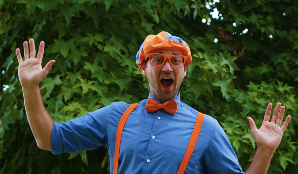 Parents were thrown off when Blippi, created by Stevin John (shown here), was portrayed by a different actor. (Photo: Blippi.com/Moonbug)