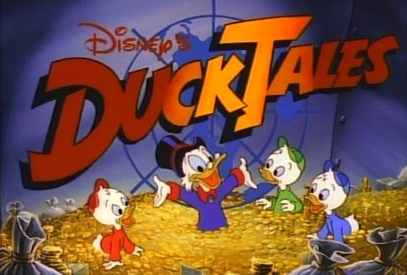 David Tennant voicing Scrooge McDuck in DuckTales TV reboot