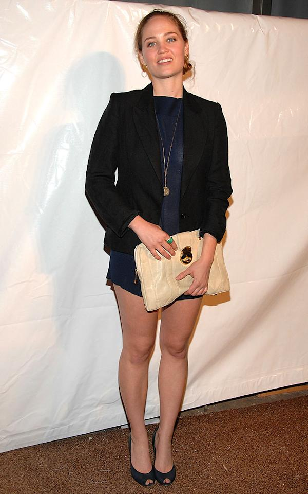 """Did """"Swimfan"""" star Erika Christensen forget to put on a pair of pants before stepping out? Jean-Paul Aussenard/<a href=""""http://www.wireimage.com"""" target=""""new"""">WireImage.com</a> - March 9, 2008"""