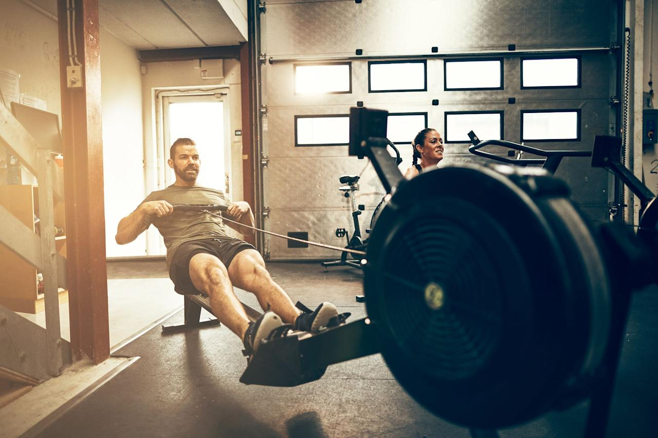 """<p>If you want a hardcore workout that will build up your aerobic fitness, torch calories, <em>and</em> sculpt your back, hamstrings and glutes, look no further than <a href=""""https://www.menshealth.com/fitness/a22866477/rowing-machine-crossfit/"""">indoor rowing</a>. The machines take the principles of rowing crew on an actual boat and applies them in an indoor setting, so—in most cases—no water necessary.</p><p>The rower offers a great chance to switch up your cardio routine when you get sick of the treadmill or elliptical, while also working your entire body in a way no running routine can. That's just one reason why it's a great idea to have a rower handy—but <a href=""""https://www.menshealth.com/fitness/a19524129/health-benefits-rowing-workouts-men/"""">there are definitely more</a>.</p><p>Since rowers are (relatively) compact, they can make a great addition for any <a href=""""https://www.menshealth.com/fitness/a25436837/home-gym-fitness-awards-2019/"""" target=""""_blank"""">home gym</a>, especially if you're treadmill-phobic. Here are our top picks for the best ones to add to your setup.</p>"""
