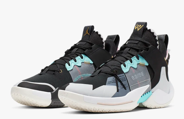 "Jordan ""Why Not?"" Zer0.2 SE Basketball Shoe"