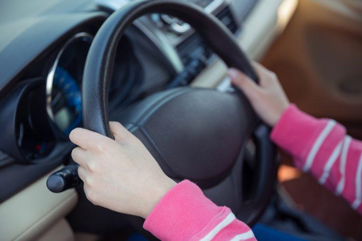 7-year-old-girl driver