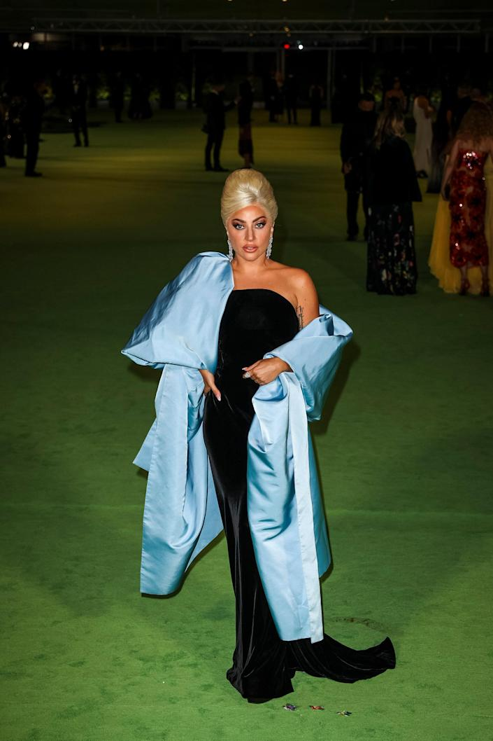 <p>WHO: Lady Gaga</p> <p>WHAT: Schiaparelli Haute Couture </p> <p>WHERE: The Academy Museum of Motion Pictures Opening Gala</p> <p>WHEN: September 25</p>