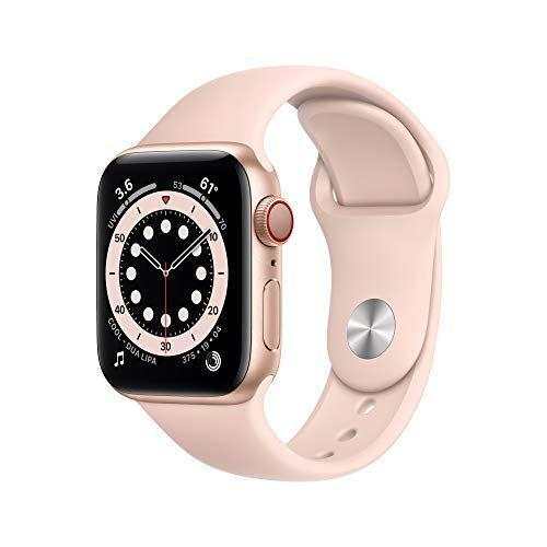 """<p><strong>Apple</strong></p><p>amazon.com</p><p><a href=""""https://www.amazon.com/dp/B08J5X2JNC?tag=syn-yahoo-20&ascsubtag=%5Bartid%7C2089.g.34775365%5Bsrc%7Cyahoo-us"""" rel=""""nofollow noopener"""" target=""""_blank"""" data-ylk=""""slk:BUY NOW"""" class=""""link rapid-noclick-resp"""">BUY NOW</a></p><p>The Apple Watch is poised to be <em>the </em>ultimate gift this year, and Amazon is shaving over $100 off the latest model just in time for you to get a head-start on your holiday shopping.</p>"""