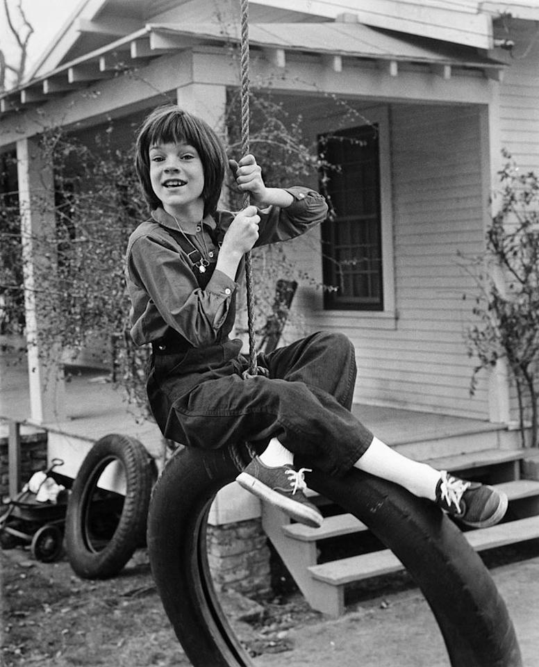 "Mary Badham - Age 10 ""To Kill a Mockingbird"" (1962)"