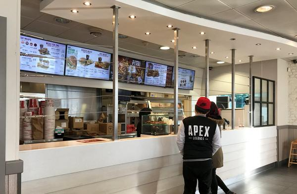 The fast-food giant has taken the drastic measure at one of their Birmingham branches after being plagued by a series of worrying incidents in the last 12 months. (SWNS)