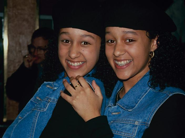 Tia and Tamera Mowry in 1990.