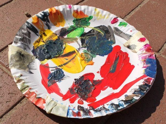 5 Pre-School Learning Activities Using Disposable Paper Plates