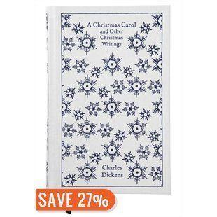 "It's Christmas, right? So you can't go wrong with a festive gift, like this cloth-bound Penguin edition of Dickens' classic tale, along with a few more of his short stories. <a href=""http://www.chapters.indigo.ca/books/penguin-classics-a-christmas-carol/9780141195858-item.html?ikwid=a+christmas+carol&ikwsec=Home&ikwidx=1"" target=""_blank"">Get it here.</a>"