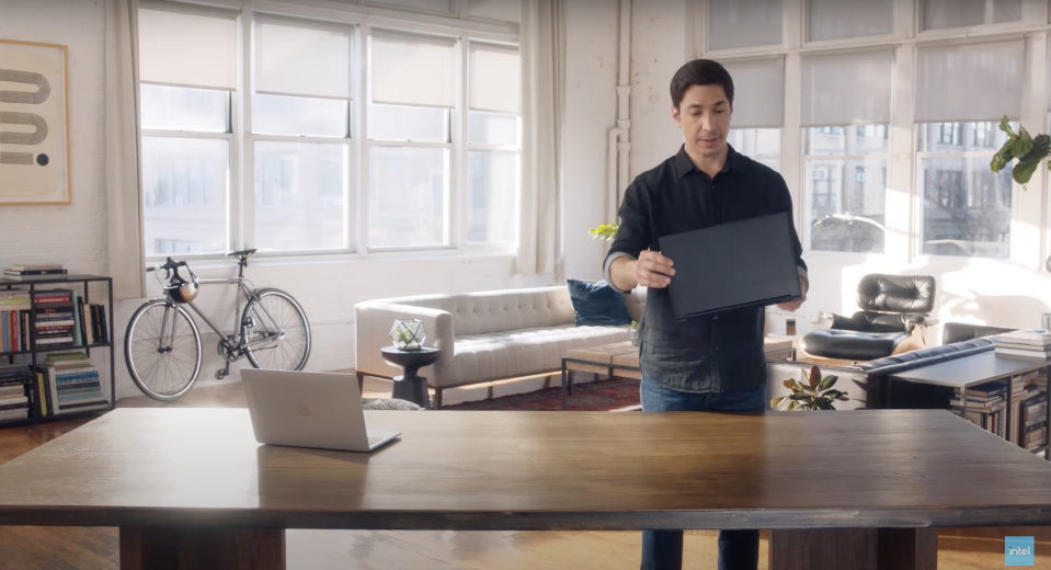 Intel Justin Long PC ad