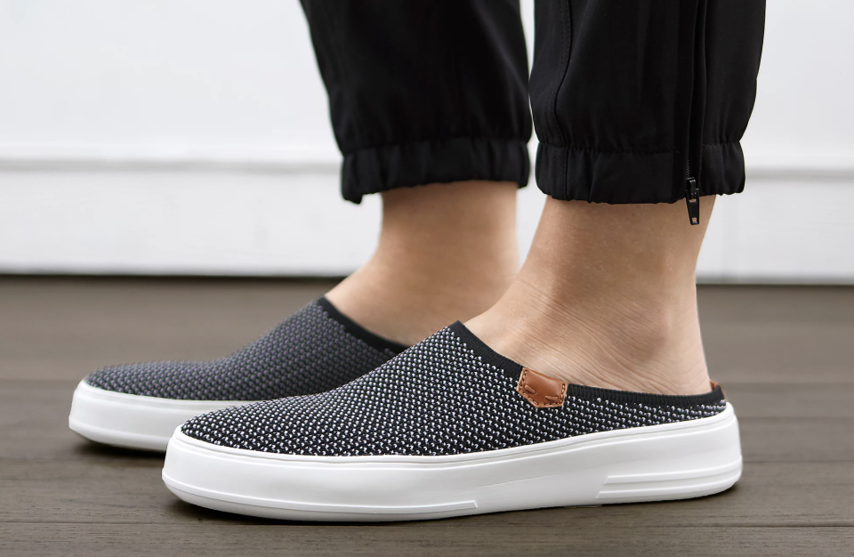 Cute, comfy, and priced to move: the footwear trifecta. (Photo: QVC)