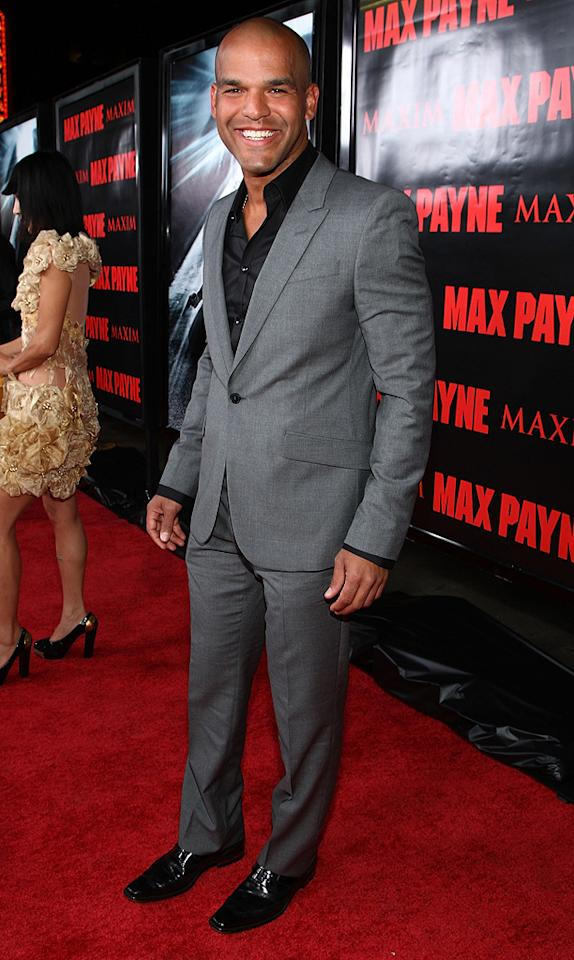 """<a href=""""http://movies.yahoo.com/movie/contributor/1804894742"""">Amaury Nolasco</a> at the Los Angeles premiere of <a href=""""http://movies.yahoo.com/movie/1810007086/info"""">Max Payne</a> - 10/13/2008"""