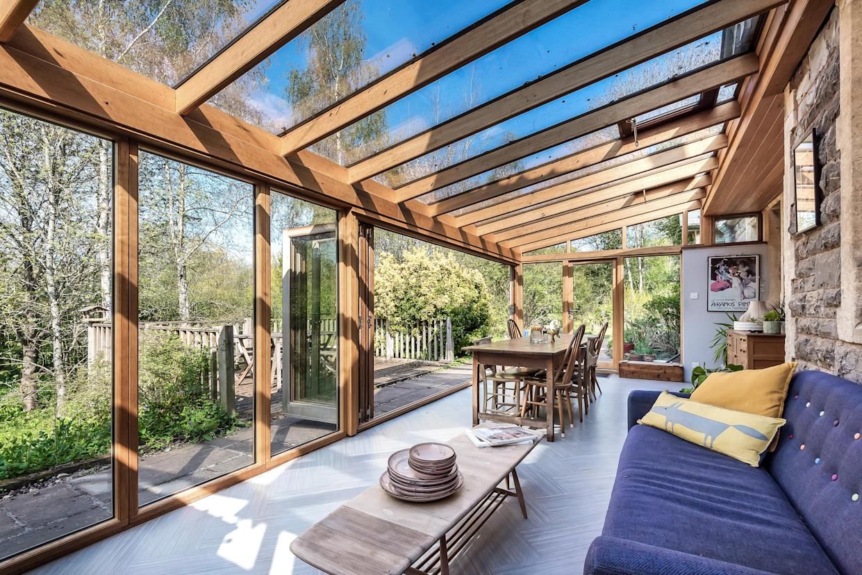 The beautiful garden room. (Supplied Stags)
