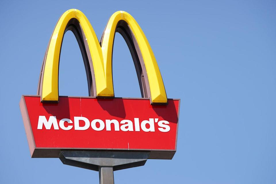 """<p>Before you get <em>too </em>excited, McDonald's <a href=""""https://www.mcdonalds.com/gb/en-gb/help/faq/21571-is-mcdonalds-open-on-christmas-day.html"""" rel=""""nofollow noopener"""" target=""""_blank"""" data-ylk=""""slk:website states"""" class=""""link rapid-noclick-resp"""">website states</a>, """"Only a handful of <a href=""""https://www.goodhousekeeping.com/holidays/christmas-ideas/a30297065/mcdonalds-christmas-hours/"""" rel=""""nofollow noopener"""" target=""""_blank"""" data-ylk=""""slk:McDonald's restaurants open on Christmas Day"""" class=""""link rapid-noclick-resp"""">McDonald's restaurants open on Christmas Day</a>."""" Before you get your heart set on a morning McGriddle, call your <a href=""""https://www.mcdonalds.com/us/en-us/restaurant-locator.html"""" rel=""""nofollow noopener"""" target=""""_blank"""" data-ylk=""""slk:local restaurant"""" class=""""link rapid-noclick-resp"""">local restaurant</a>. </p>"""