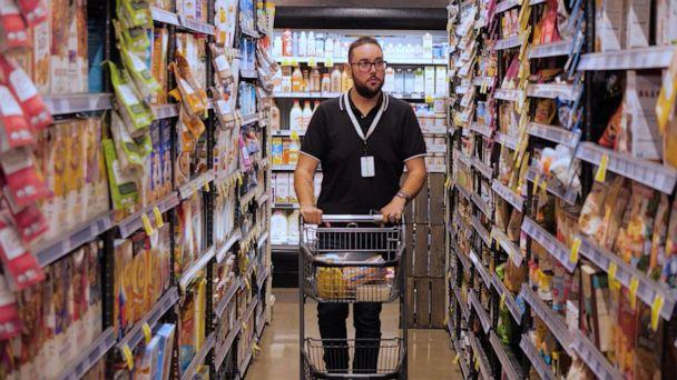 PHOTO: Antonio Martinez, of Chicago, says he has grown his career and lost weight with Instacart. (Instacart)