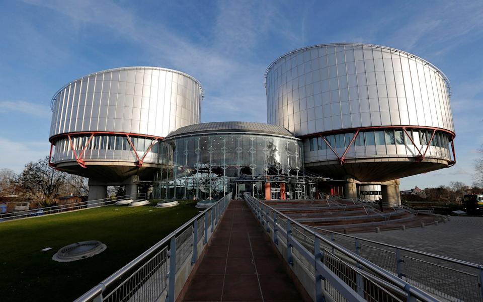 The building of the European Court of Human Rights in Strasbourg - REUTERS/Vincent Kessler/File Photo