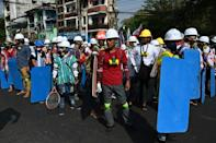 Myanmar has been shaken by a wave of protests across the country demanding a return to democracy