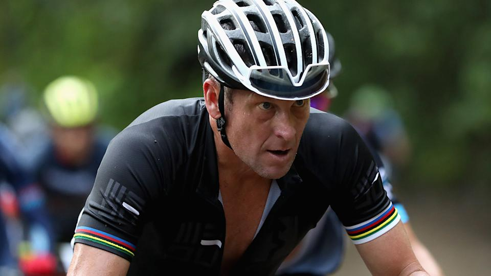 Lance Armstrong won seven Tour de France titles before having them stripped over doping revelations. (Photo by Ezra Shaw/Getty Images)