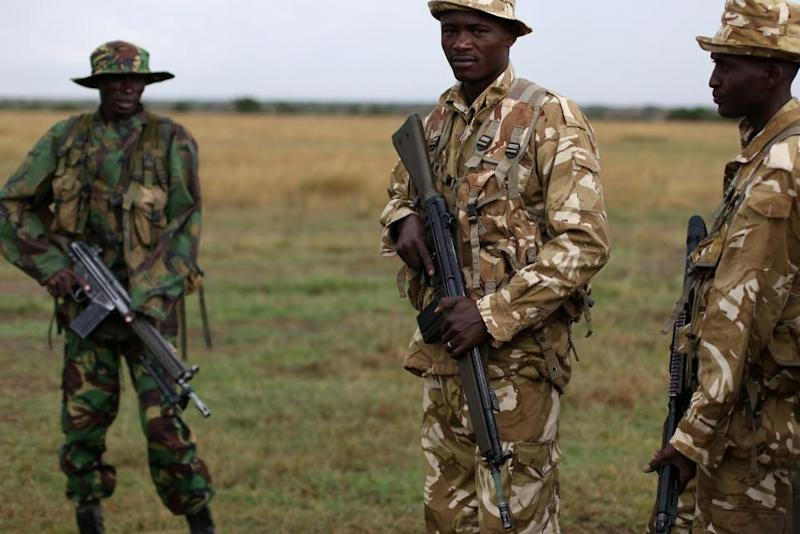 Kenya anti-poaching rangers
