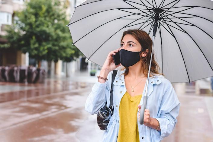 Avoid getting drenched in the rain as much as possible to safeguard your health.