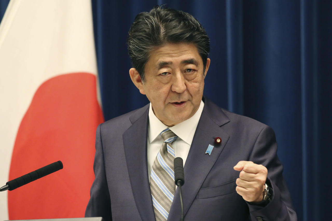 Japan PM Abe says visit by Iran's Rouhani being arranged