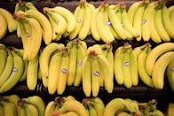 """<p>It's no secret that bananas are good for us — they're nutrient packed and high in potassium, which helps regulate our bodies. And all of those great benefits help make bananas an amazing choice for hair masks. According to Healthline, bananas <a href=""""https://www.healthline.com/health/banana-hair-mask"""" rel=""""nofollow noopener"""" target=""""_blank"""" data-ylk=""""slk:contain the mineral silica"""" class=""""link rapid-noclick-resp"""">contain the mineral silica</a>, which helps your body to synthesize collagen, which can make your hair stronger and thicker. A banana hair mask can also reportedly moisturize your hair and help relieve a dry, itchy scalp.</p><p><strong>To use:</strong> Blend together two ripe bananas and half a cup of coconut milk. Coat your hair in the mixture and let it sit for 30 minutes, then wash the mask out of your hair.</p>"""