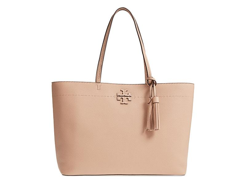The pebbled leather makes this tote extra durable. (Photo: Nordstrom)