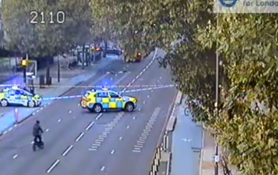 The A11 was shut for several hours  (TfL)