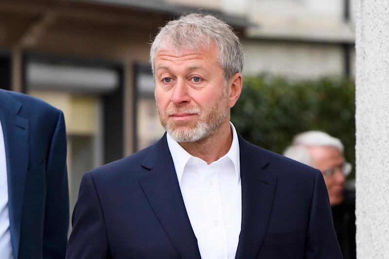 Roman Abramovich was not seen at Saturday's FA Cup final: EPA