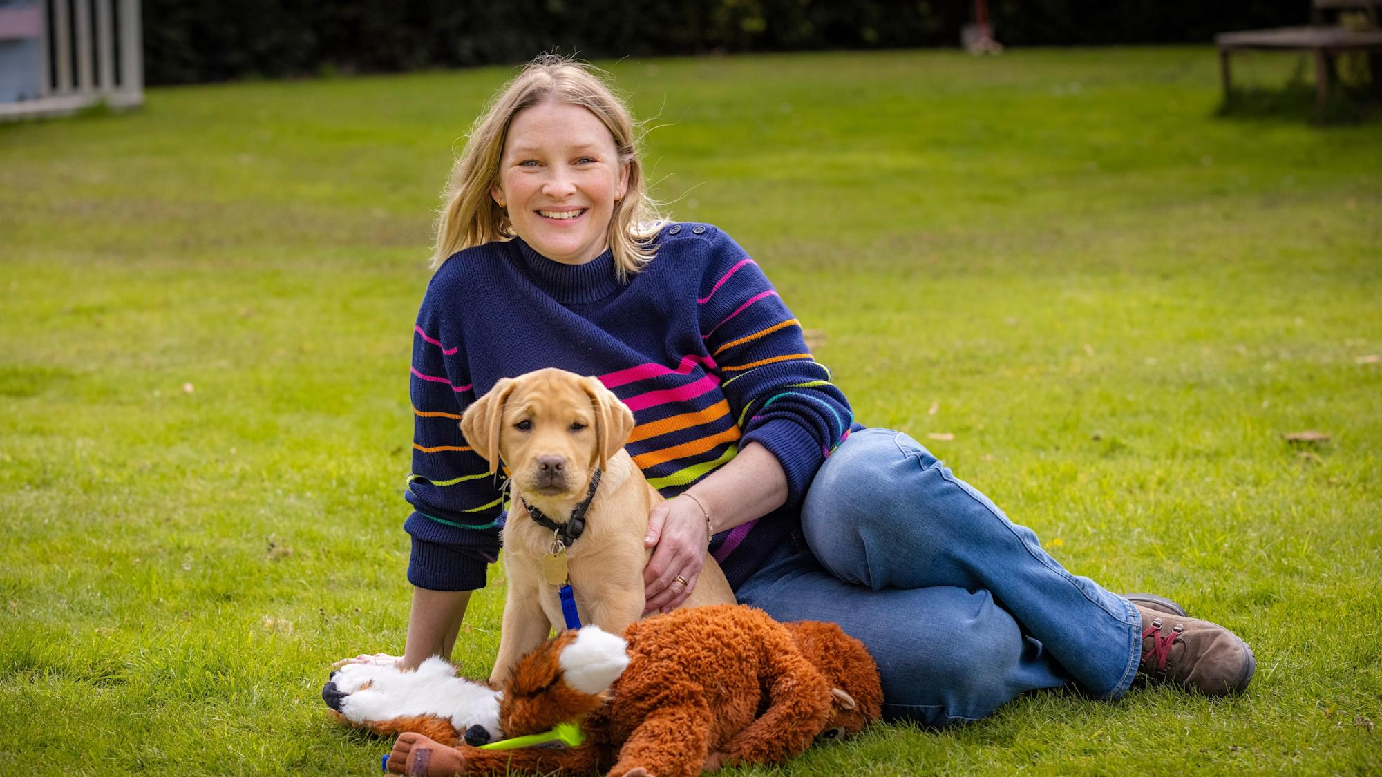 Joanna Page lends voice to short story to celebrate 90 years of Guide Dogs